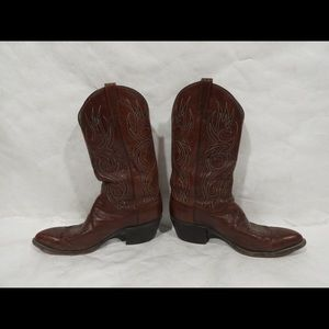 Dan Post (6981) Cow Boy Boots  Leather Made In Usa